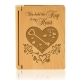 Key To My Heart Wooden Photo Album