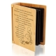 Love Never Fails Wooden Photo Album