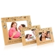 BLING Rain of Hearts Wooden Picture Frame