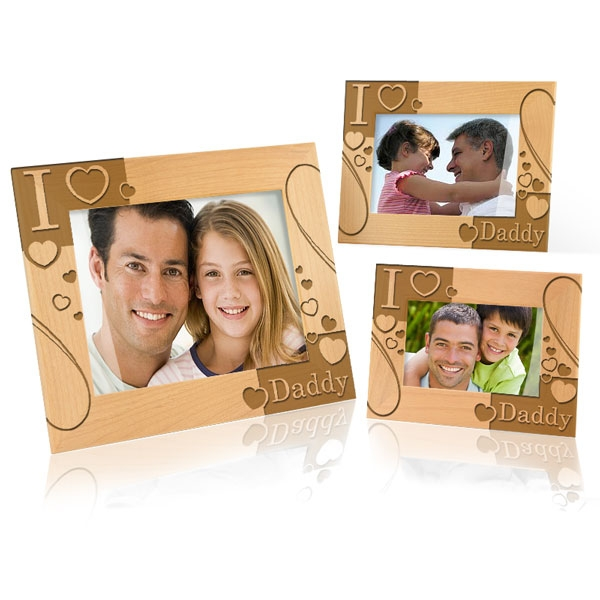 i love my daddy picture frame