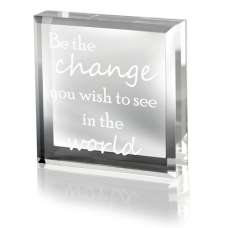 Be the Change Keepsake & Paperweight