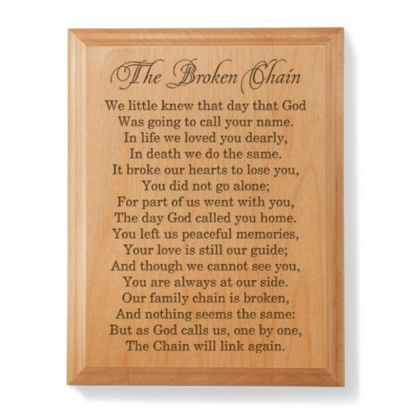 the broken chain poem pdf